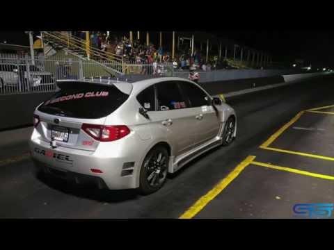 Subaru wrx/sti 9.85@139mph world first 9sec hatch sti full video