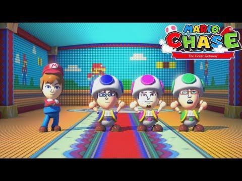Nintendo Land - (Co-op) Mario Chase (GamePad)