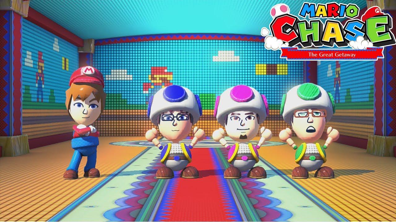 Nintendo Land – (Co-op) Mario Chase (GamePad)