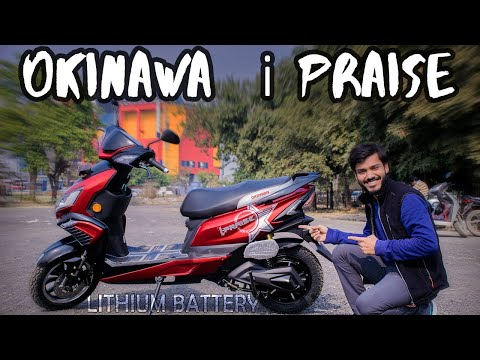 Okinawa i Praise (2019) | Lithium ion battery | Electric Scooter review in Hindi | Buying in India |