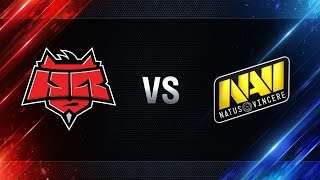 Natus Vincere vs HellRaisers - final Season I Gold Series WGL RU 2016/17