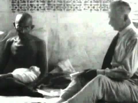 Mahatma Gandhi First TV Interview.mp4