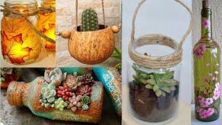 Top 100 Ideias Geniais DIY Reciclagem Artesanato e Decoração