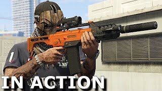 Killing Players with Special Carbine Mk II (GTA 5 DLC)