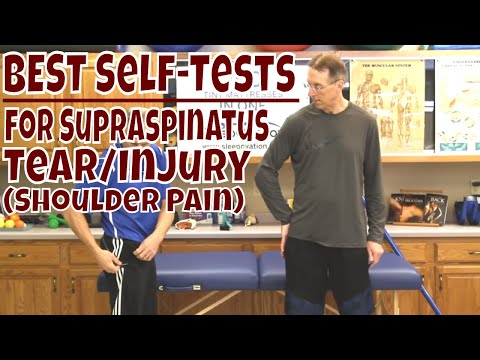 Best Self-Tests For Supraspinatus Tear/Injury (Shoulder Pain)
