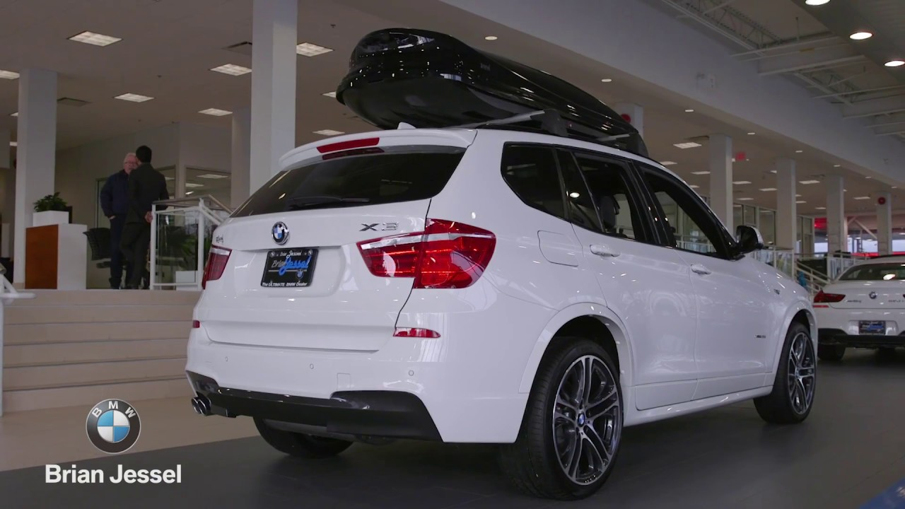 2017 bmw x3 xdrive35i at brian jessel bmw youtube. Black Bedroom Furniture Sets. Home Design Ideas
