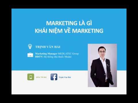 Marketing là gì, khái niệm Marketing từ các góc nhìn quốc tế