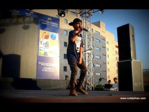 Noddy Khan Singing | Singing Brown Rang Yo Yo Honey Singh | 2014