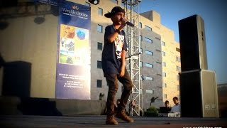 Noddy Khan | Live | Singing Brown Rang Yo Yo Honey Singh | 2014