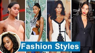 Laura Harrier's fashions 2018