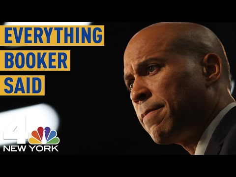 Everything Cory Booker Said During the Democratic Debate | NBC New York