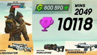 Halloween Map , Costume , Mask , Gun Skins + 10000 trophies Guns of boom shooter 2.7.0 aNdroid / iOS