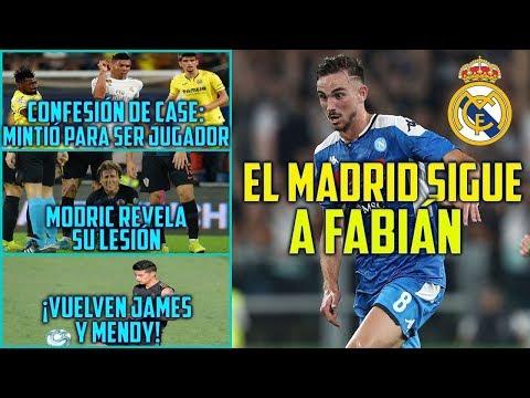 EL MADRID SIGUE A FABIÁN   VUELVEN JAMES Y MENDY   ASÍ MINTIÓ CASEMIRO PARA EMPEZAR SU CARRERA