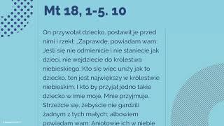#Ewangelia | 2 października 2018 | (Mt 18, 1-5. 10)