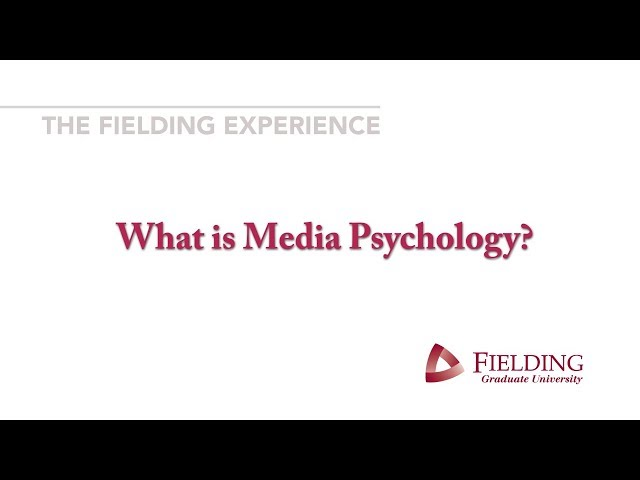 What is #Media Psychology?