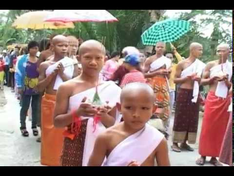 lễ xuất gia chùa khmer Cai Tắc (Hậu Giang)=p1