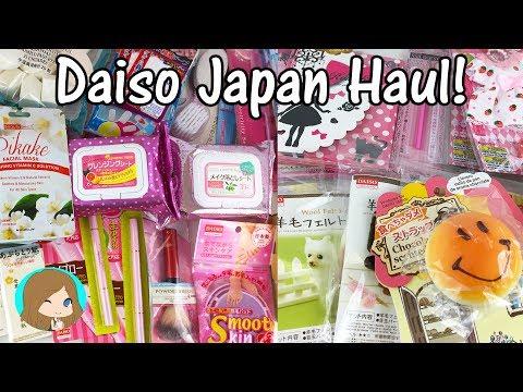 Huge Daiso Japan Haul!