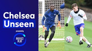 Billy Gilmour Doing Billy Gilmour Things & Mendy Unbeatable In Training | Chelsea Unseen
