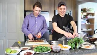 How To Make Thai Pesto Pizza - Realmeneatgreen Pizza Series Part 2
