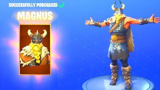 *NEW* MAGNUS VIKING SKiN! (New ITEM SHOP Fortnite Battle Royale)