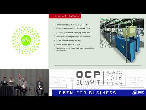 OCPUS18 – Solving the Energy Challenge through Innovations in Data Center Cooling