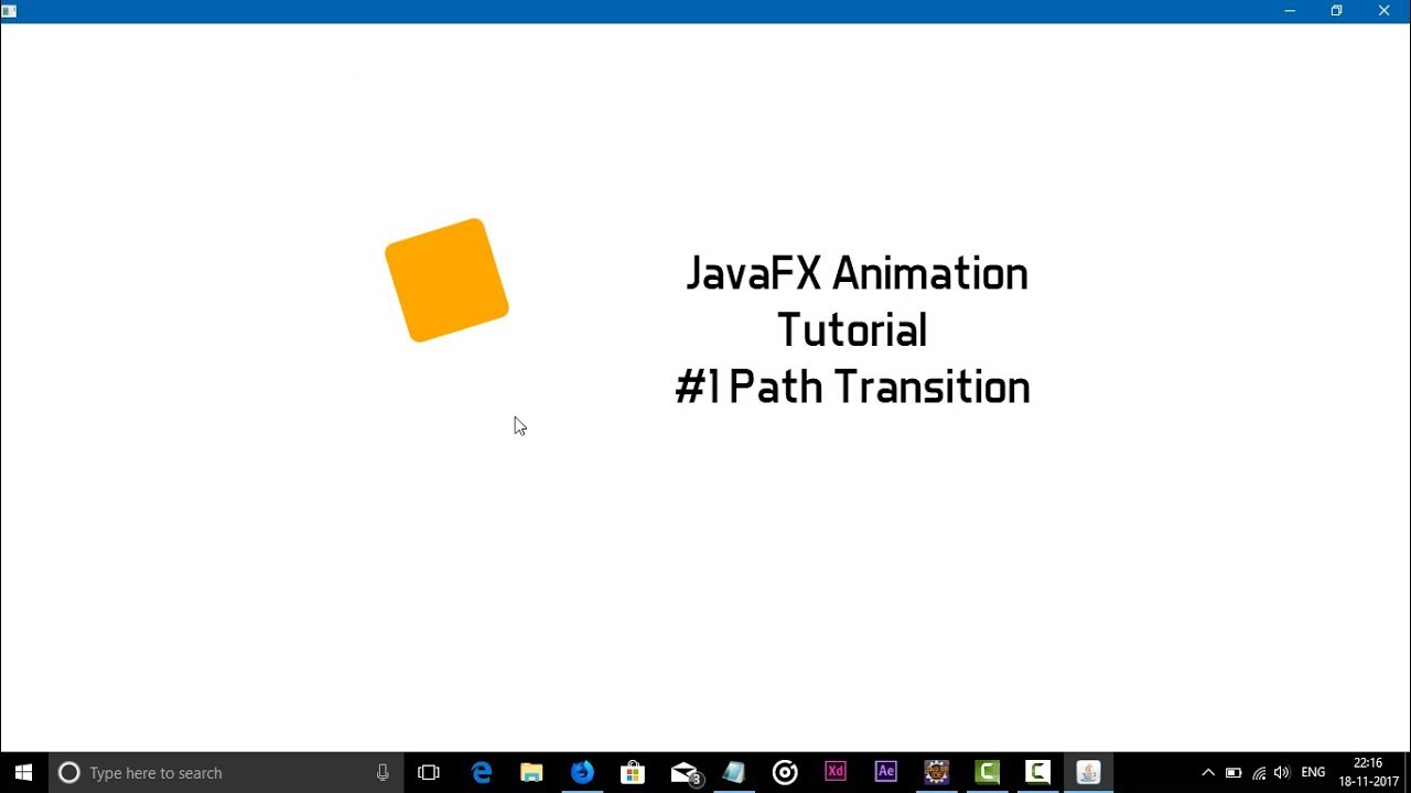 keyframe javafx 8