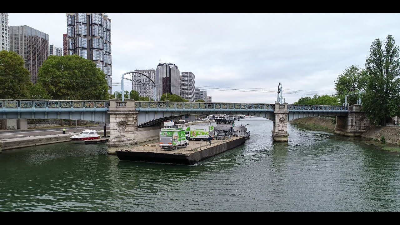 TRANSPORT MULTIMODAL SUR LA SEINE