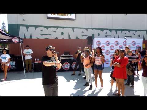 Rey y Kaye at Mesa Verde High School - Breakaway Tour Diary Ep.1