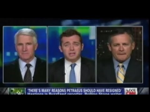 Michael Hastings Tears Petraeus to Shreds on CNN