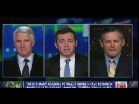 Michael Hastings Tears Petraeus to Shreds on CNN