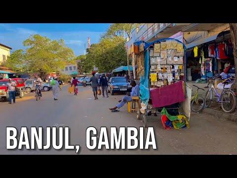 Take A Look Inside Gambia's Capital, Banjul! | BANJUL MARKET VLOG ft. Gabby 🇬🇲