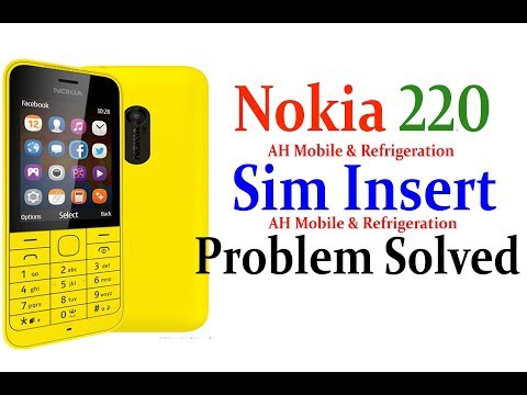 Nokia 220 Sim Insert Problem Solved