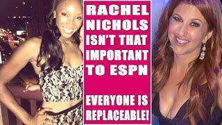 RACHEL NICHOLS VS MARIA TAYLOR HOT MIC!