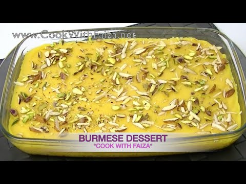 Burmese dessert cook with faiza youtube burmese dessert cook with faiza forumfinder