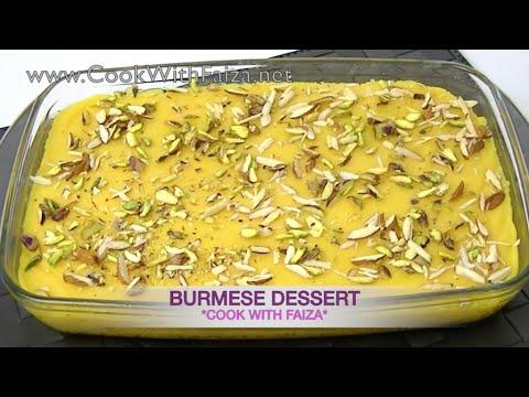 Burmese dessert cook with faiza youtube cookwithfaiza ramadanrecipes pakistanirecipe forumfinder Image collections