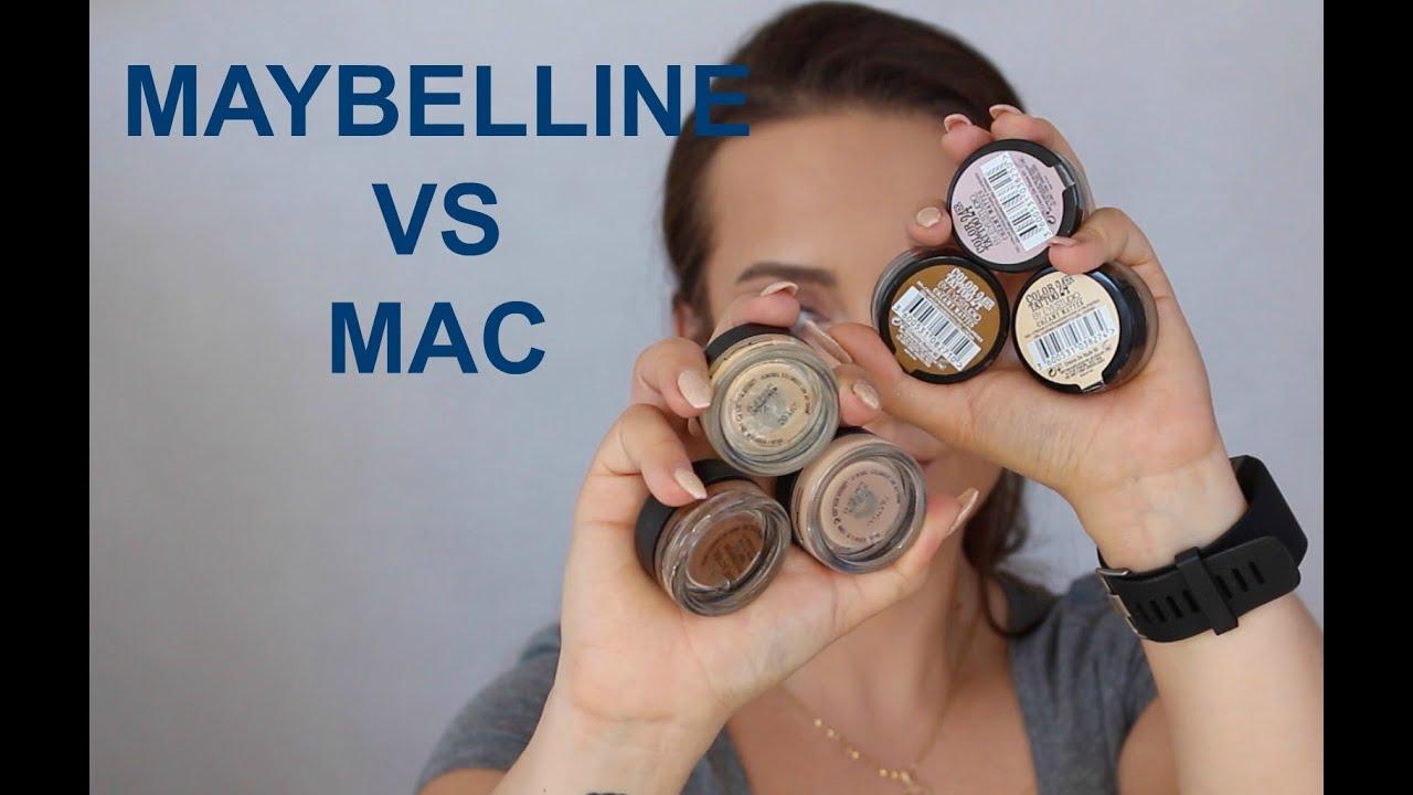 Tanio vs drogo mac paint pot vs maybelline color tattoo for Maybelline color tattoo creme de nude