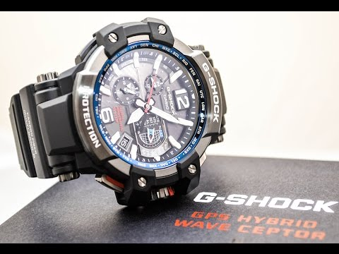 Casio GSHOCK GRAVITY MASTER GPW1000-1A REVIEW | How To Set Time | LIGHT DISPLAY