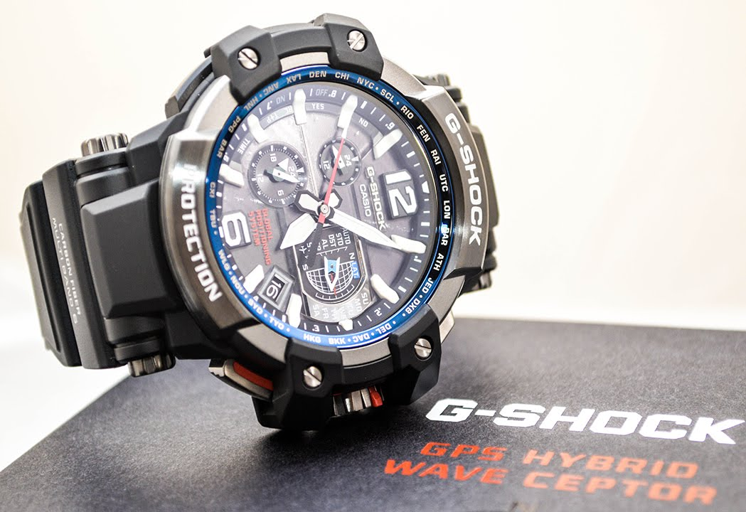 eabc97560ab Casio GSHOCK GRAVITY MASTER GPW1000-1A REVIEW