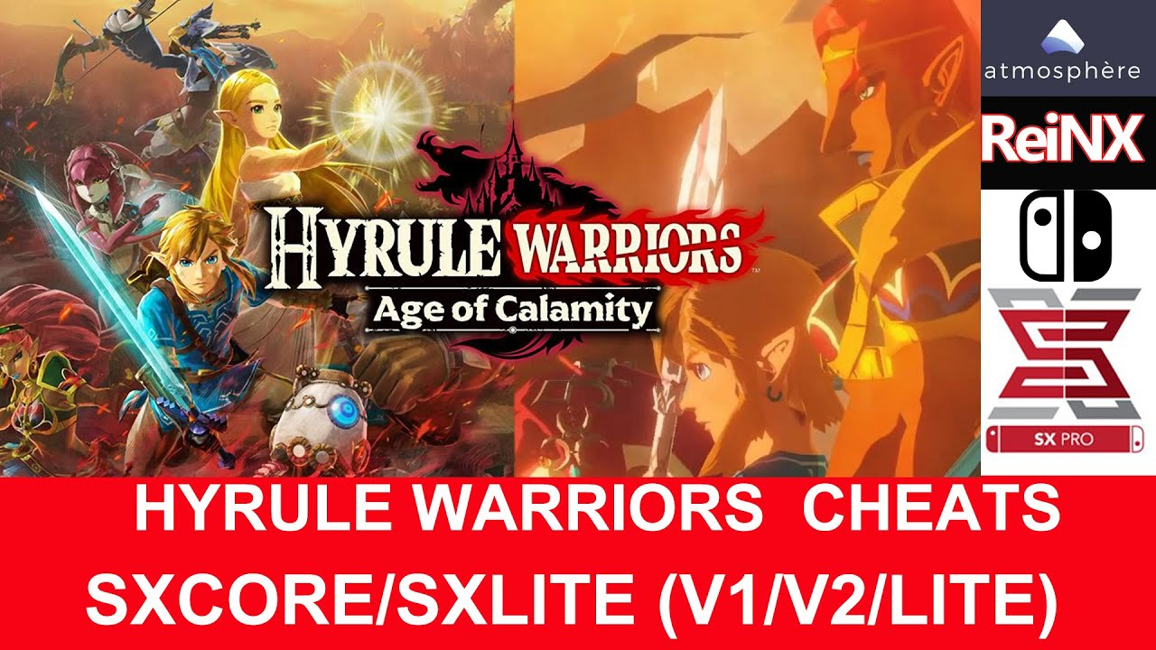 Hyrule Warriors Age Of Calamity Sxos Cheats Nintendo Switch Youtube