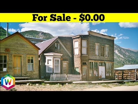 Abandoned Ghost Towns No One Wants To Buy For Any Price
