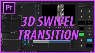 Adobe Premiere Pro CC 3D Dönebilen bir Geçiş Oluşturma (2018)