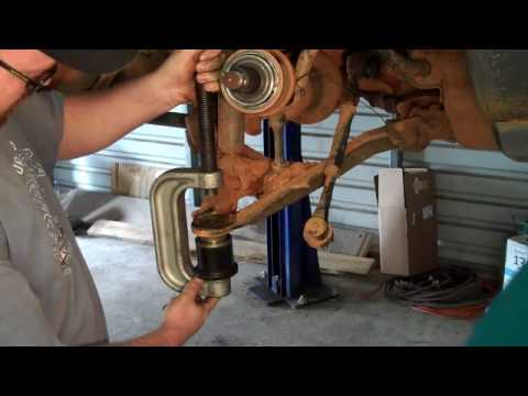 F150 Squeaky Ball Joint Replacement