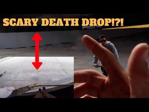 CRAZY DEATH DROP-IN *SCARY*