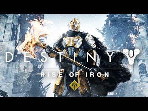 Destiny: Rise of Iron All Cutscenes (Game Movie) 1080p HD