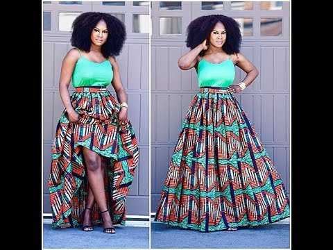 2018 #Ankara Latest Styles: Look Good On African Print, #Ankara Styles, African Maxi Dresses
