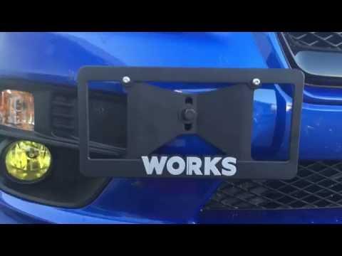 2017 WRX: Perrin Front License Plate Bracket | Subaru WRX 2015 2016 ...