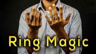 ring magic | easy magic tricks | ring tricks
