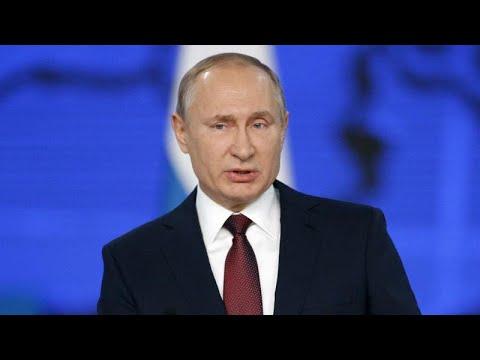Vladímir Putin Presenta Su Agenda Social Y Amenaza Con Apuntar Sus Misiles Contra EEUU