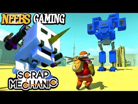 Scrap Mechanic - BattleMechs!