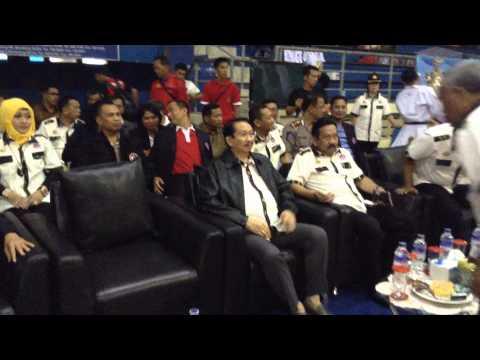 DR. Taufiq Effendi, MBA Hadiri Kejurnas INKANAS Kapolri Cup VI Di Bandung Pada Tgl 27 Februari 2015